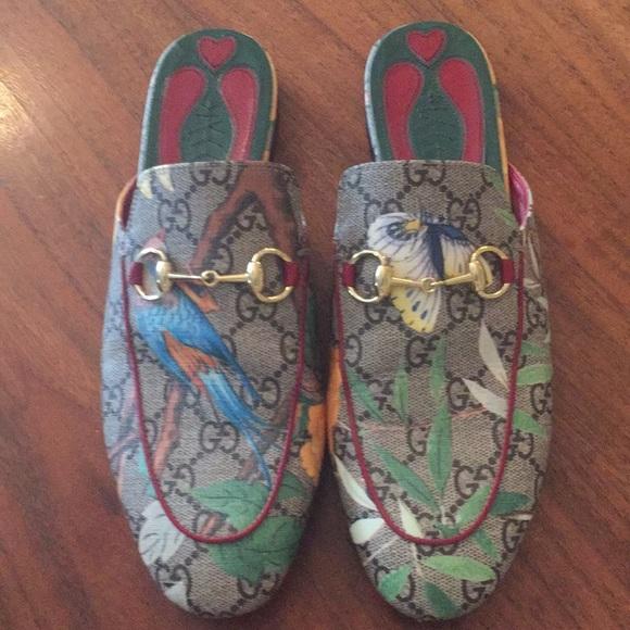 5e09e1c42 Gucci Shoes - Gucci Tian Princetown slipper mules 37.5